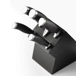 Stellar James Martin Knife Block 5 Piece - Black