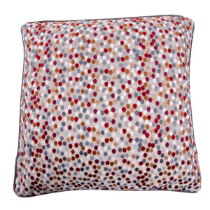 Sophie Spot Cushion 58 x 58cm - Berry