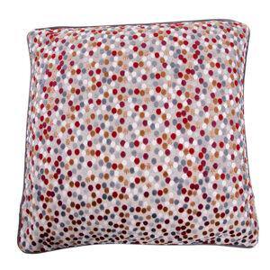 Sophie Spot Cushion 58 x 58cm - Berry