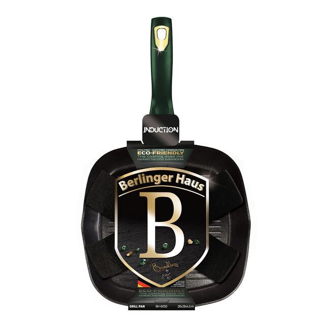 Berlinger Haus Emerald Grill Pan - 28cm