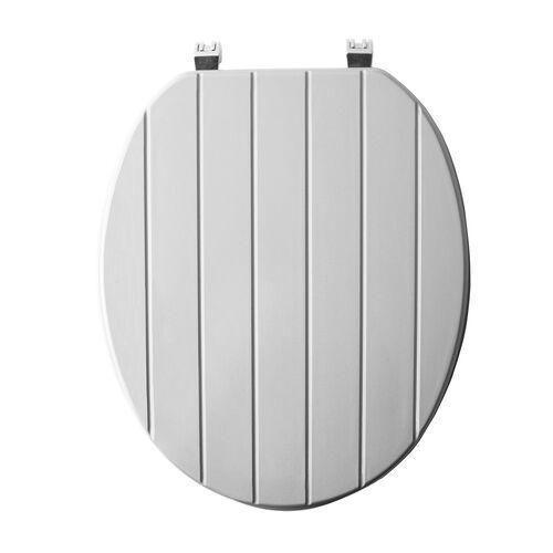 Sabichi Grey Grooved Toilet Seat