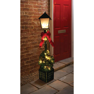 Door Lamp Tree with LED Lights 4ft
