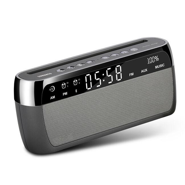Sonarto 10W Bluetooth Alarm Clock Speaker
