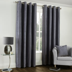 Velvet Embossed Curtains