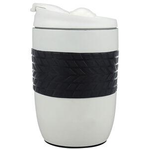 Body Go Stainless Steel Travel Mug 260ml - White