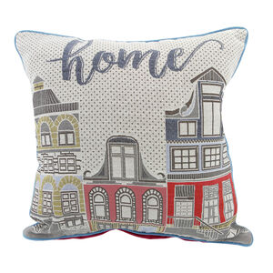 Townhouse Cushion Cover 2 Pack 45cm x 45cm