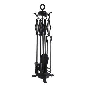 Silverflame Companion Set with Decorative Handle