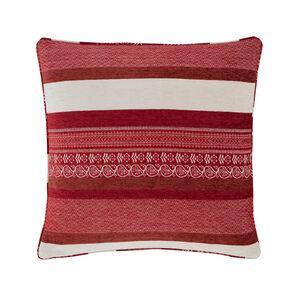 Isla Geo Red Cushion 58cm x 58cm