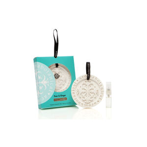 Pear & Ginger Fragrant Ceramic Disc