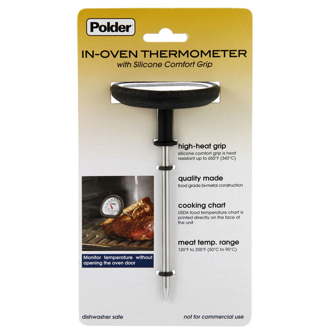 Polder Deluxe In-Oven Thermometer