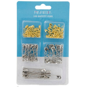 100 Safety Pins