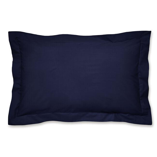 Luxury Percale Oxford Pillowcase Pair - Navy