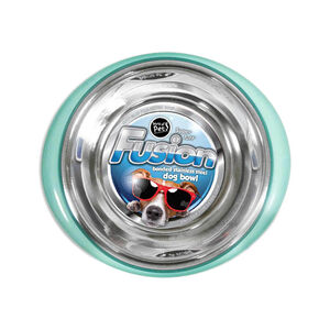 Fusion Stainless Steel Dog Bowl 17cm
