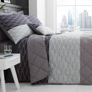 Cian Charcoal Bedspread 200cm x 220cm