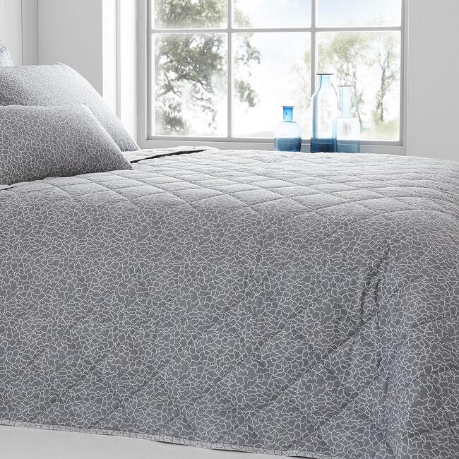 Dermot Grey Bedspread 200x220cm