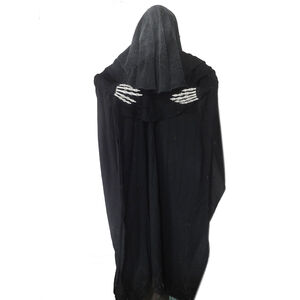 5ft Animated Standing Black Reaper