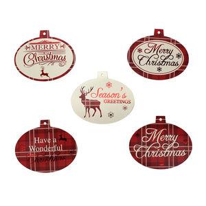 Foil Christmas Gift Tags 50Pk