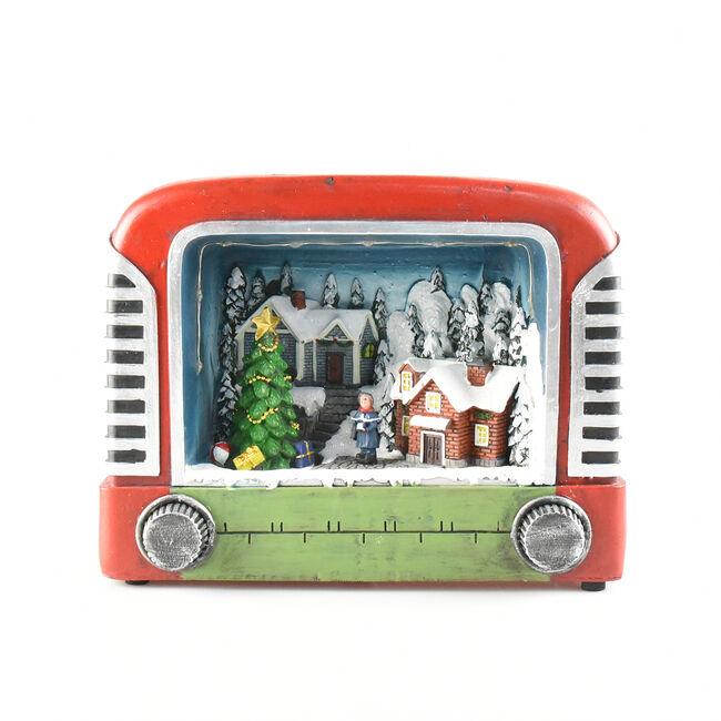 Musical Christmas TV Scene