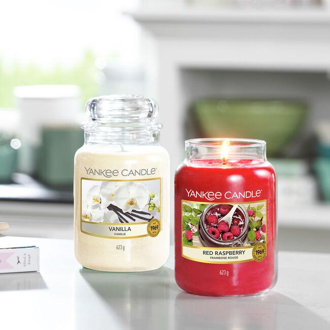 Yankee Candle Red Raspberry Large Jar