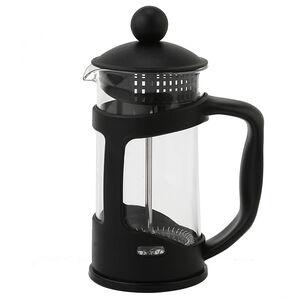 Glona Black Glass Cafetiere 350ml