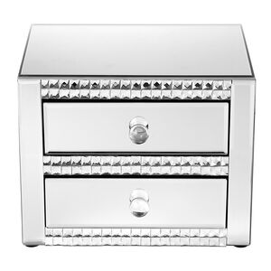 Cashel Living Square Diamond Jewellery 2 Drawer