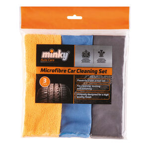 Minky Auto Care Cloth Cleaning Set