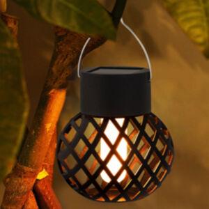 Solar Hanging Flame Light