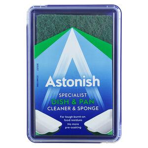 Astonish Premium Dish & Pan Cleaner with Sponge