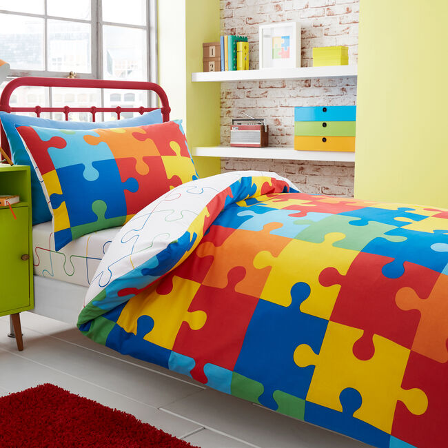 SINGLE DUVET COVER Jigsaw