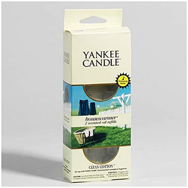 Yankee Electric Refill Clean Cotton