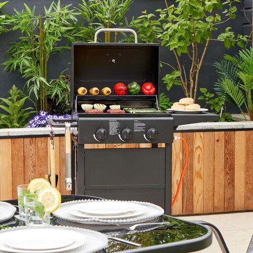 Master Cook Classic 300 3 Burner Gas Barbecue