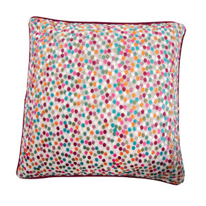 Sophie Spot Cushion 58 x 58cm - Green