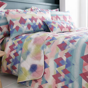 Topsy Turvy Multi Bedspread 200cm x 220cm