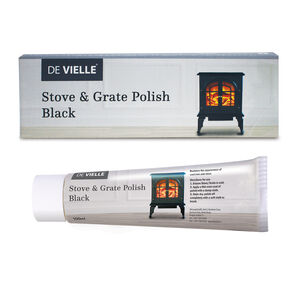 De Vielle Stove & Grate Polish Black