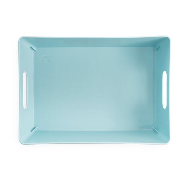 Studio Rectangular Basket 770ml - Duck Egg Blue