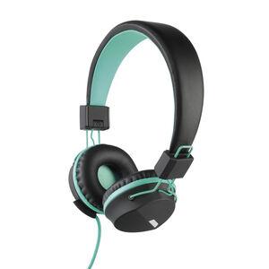 Intempo Attis Black/Aqua Headphones