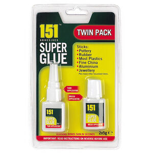 Super Glue Twin Pack