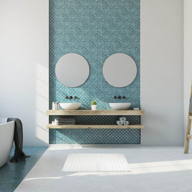Horizon Bath Mat 40 x 60cm - White