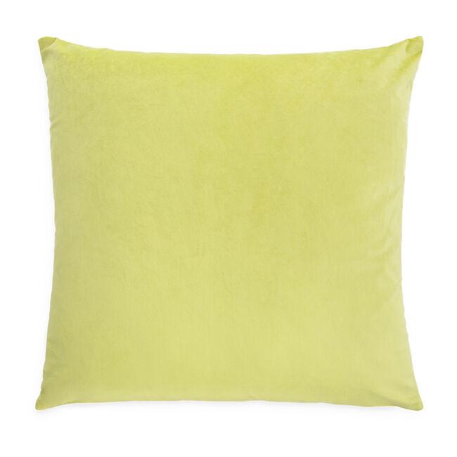 Triangle Stitch Cushion 58x58cm - Lime