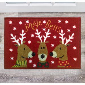 Jingle Bells Doormat 40cm x 60cm