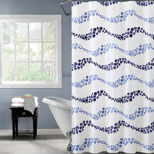 Peva Wave Shower Curtain