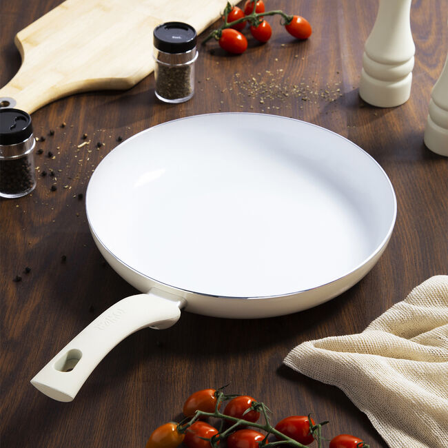 Tower Ceramic Cream Frying Pan 28cm