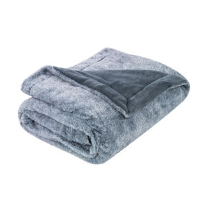Nicole Day Beatrix Grey Throw 130cm x 170cm