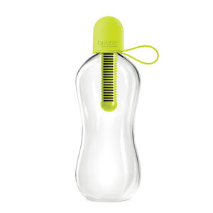 Bobble Lime Water Bottle With Tether Cap 550ml