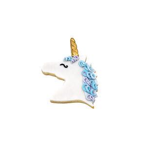 Unicorn Head Pink Cookie Cutter