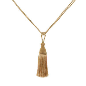 Elegance Medium Rope Gold Tieback