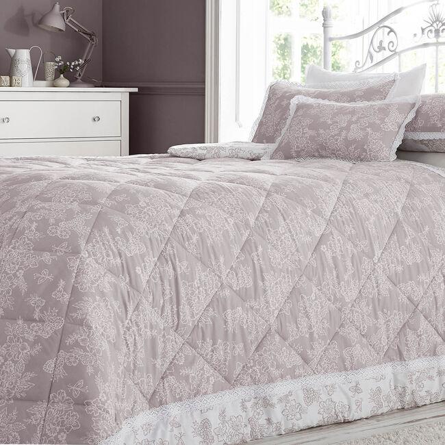 Millie Blush Bedspread 200cm x 230cm