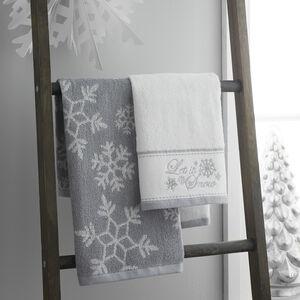 Snowflake Guest Towel - 2 Pack