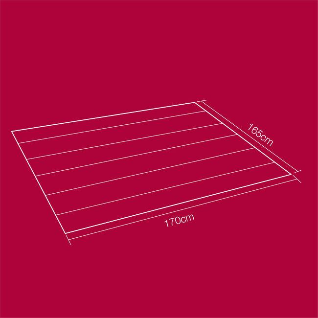 Ground Sheet 100GSM - 1.7m x 1.65m