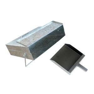Silverflame Ash Carrier with Zinc Shovel